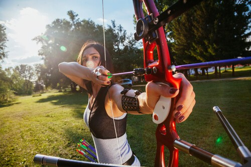 Women's top compound bows