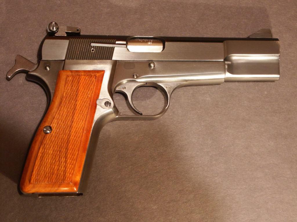 Browning Hi-Power best shtf survival handgun for the money