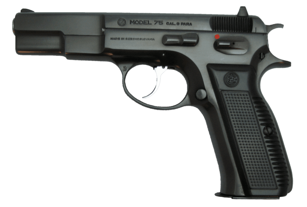CZ 75 gun for survival shtf
