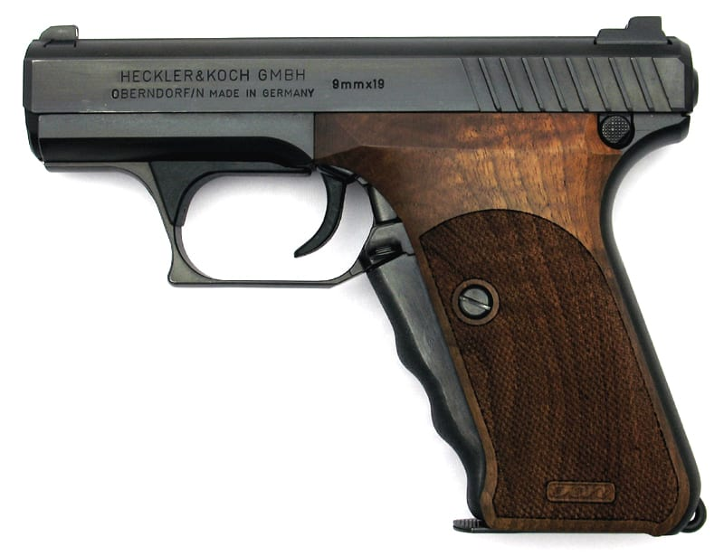 Heckler & Koch P7 best survival handgun