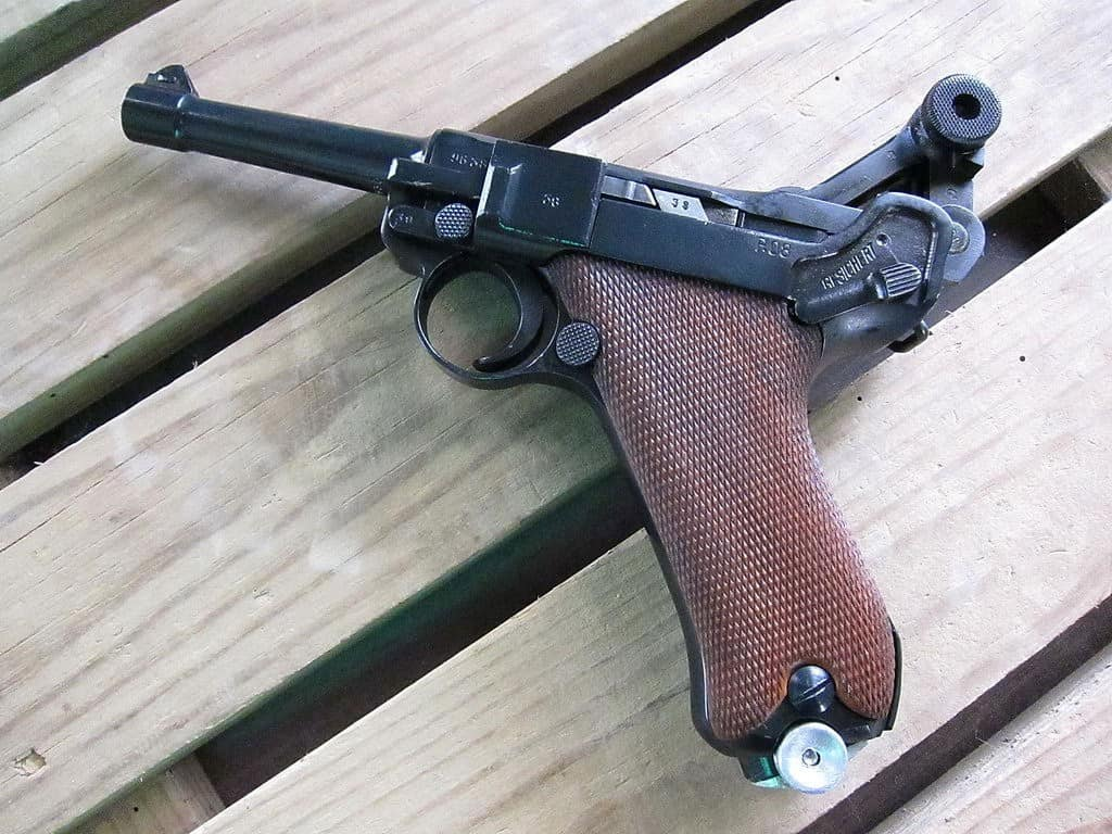 Luger Pistole P08 shtf weapon