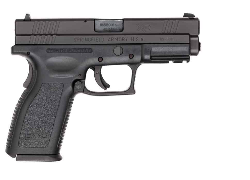 Springfield XD Compact .45 SHTF weapon