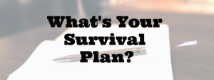 SHTF survival plan