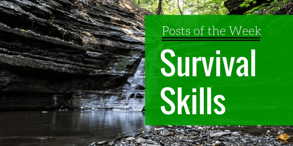 best essential survival skills