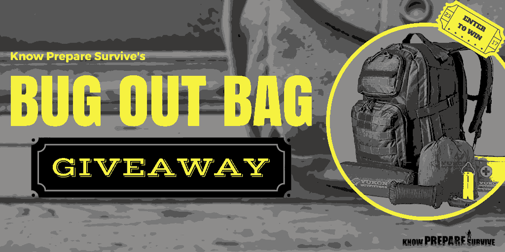 best bug out bag giveaway