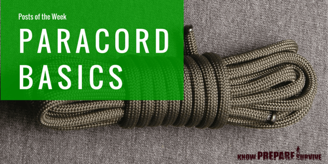 paracord projects for preppers