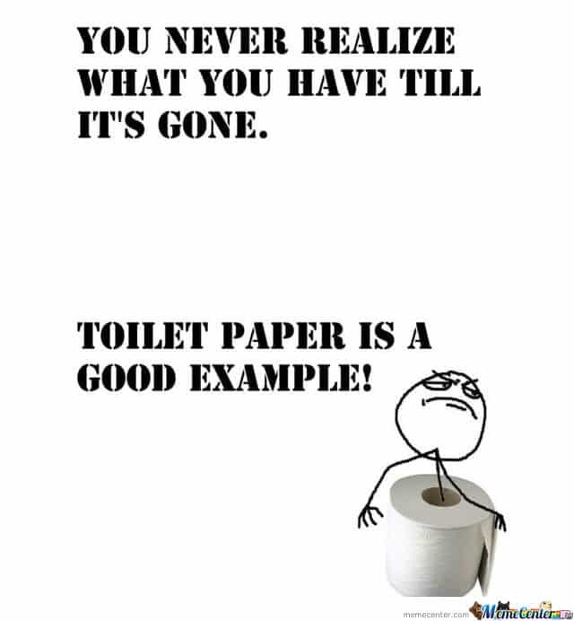 toilet paper for prepping