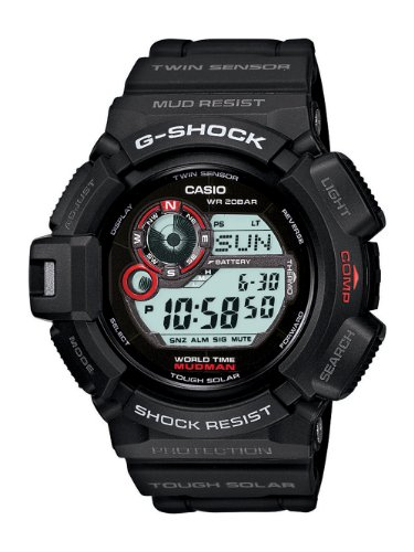casio g shock mudman military watch review