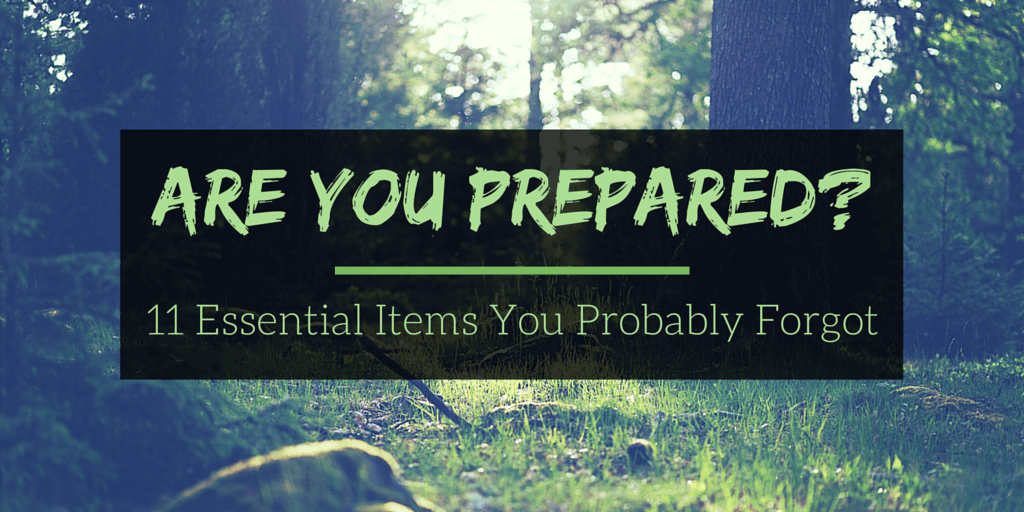 11 Essential Items You Probably Forgot