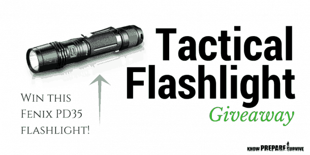 Tactical Flashlight Giveaway
