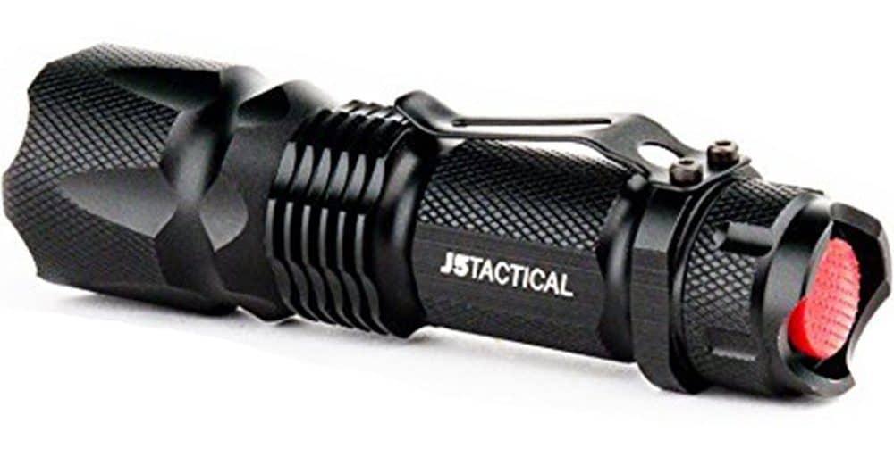 J5 V1 tactical flashlight review