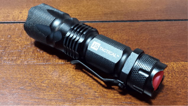 J5 tactical flashlight review
