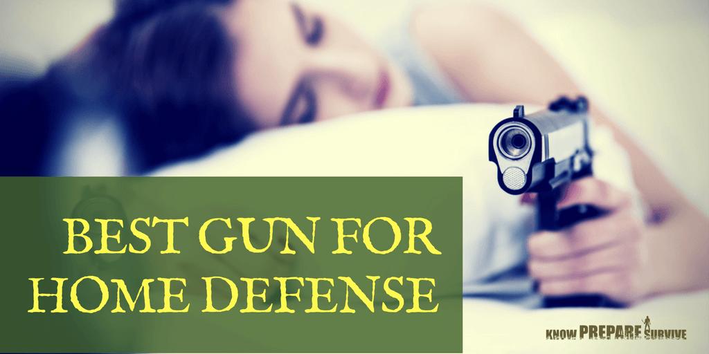 best gun for home defense