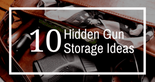secret gun storage ideas