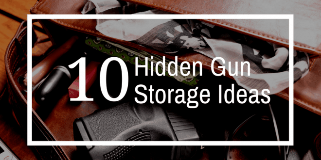 secret gun storage ideas
