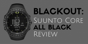 suunto core all black military watch review