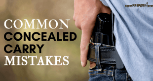 Common Concealed Carry Mistakes