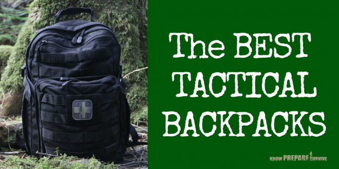 The Best Tactical Backpacks 1