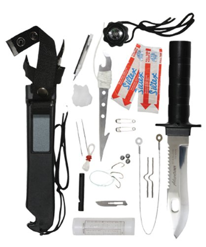 survival knife kit gimmick