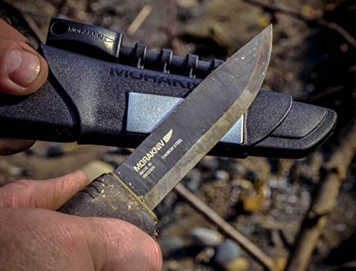 carbon steel survival knife from Morakniv