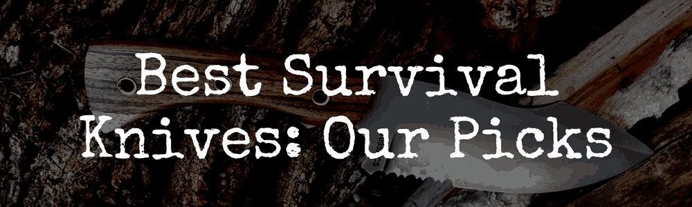 Our Picks Best Survival Knives
