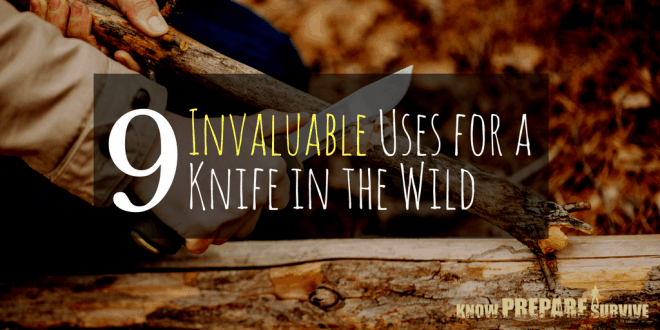 9 Invaluable Uses for a Knife in the Wild