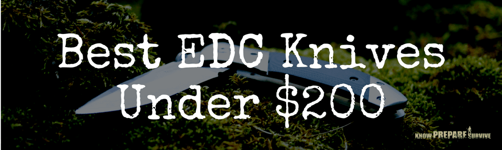 Best EDC Knives Under $200
