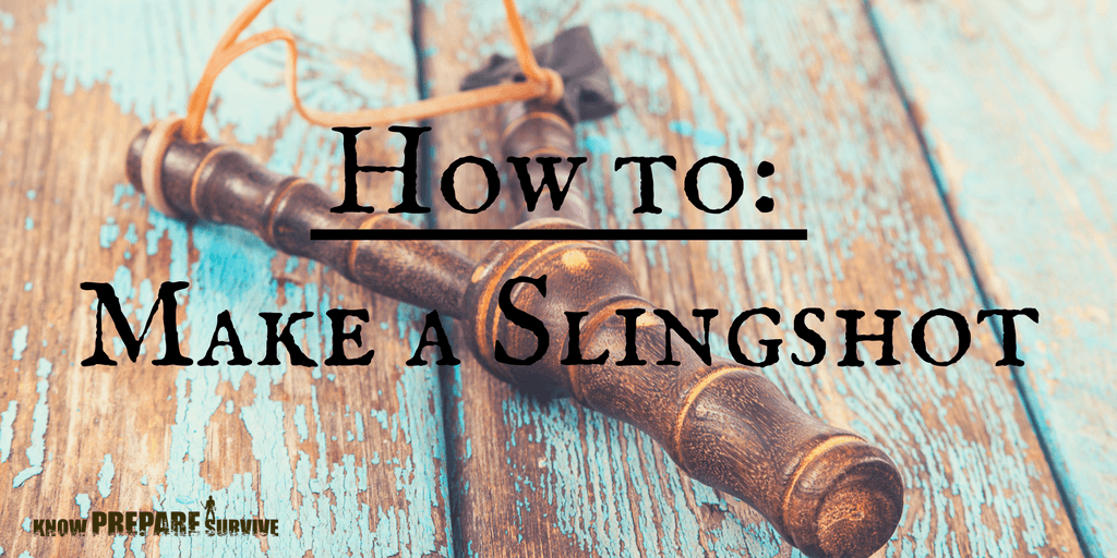 How to make a homemade hunting slingshot