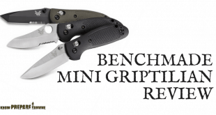 Benchmade Mini Griptilian Folding Pocket Knife Review