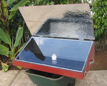 Box solar cooker
