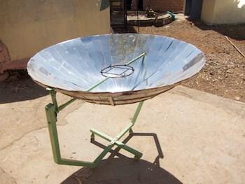 Parabolic Solar oven