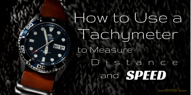 How to Use a Tachymeter to Measure Distance and Speed