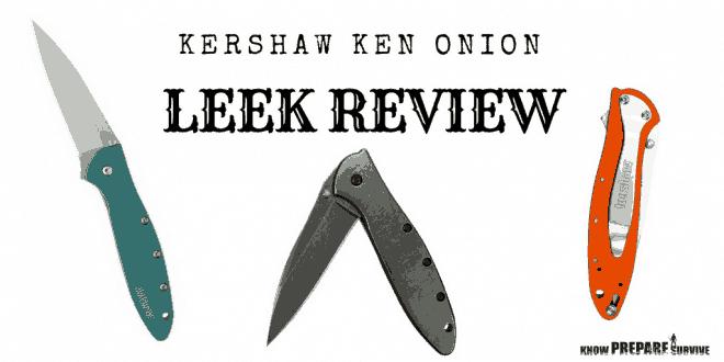 Kershaw Ken Onion Leek Knife Review
