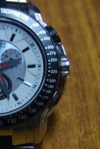 Tachymeter to determine distance