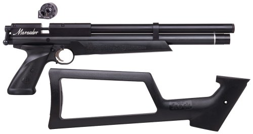 benjamin marauder review air pistol skeleton stock
