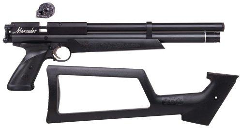 benjamin marauder review air pistol skeleton stock