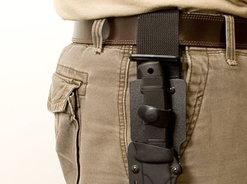 SOG Seal Pup Elite Review Sheath on Belt not Concealable