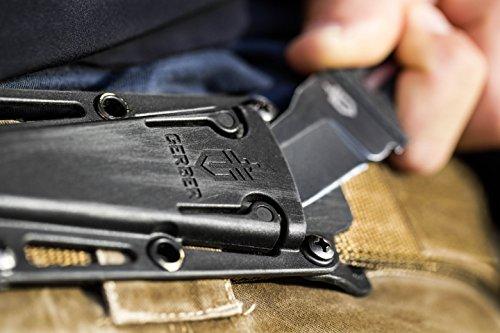 Self Defense Knife Fixed Blade Gerber Ghost Strike Belt Sheath