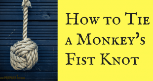 How to Tie a Monkey's Fist Knot step by step