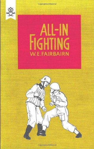Knife Self Defense Fighting Fairbairn All-In Fighting Book