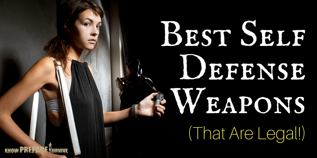 13 Of The Best Self Defense Weapons That Are Legal Of 2020