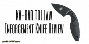 KA-BAR TDI Law Enforcement Knife Review