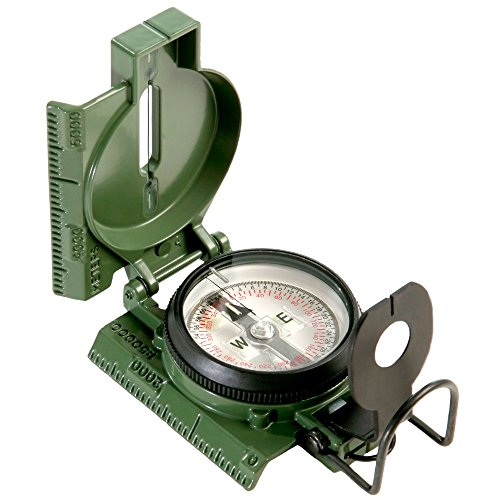 Official M-1950 3h tritium lensatic military field compass by cammenga cmmg