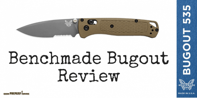 Benchmade Bugout 535 Review