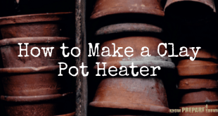 How to Make a Clay Pot Heater