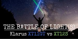 Klarus XT11GT vs XT12S flashlight review