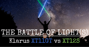 Klarus XT11GT vs XT12S flashlight review