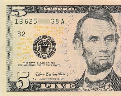 five dollar bill fiver niner how to speak military time zero hundred