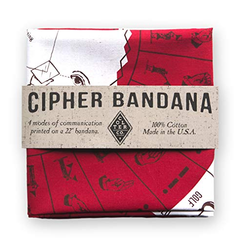 Colter Co Cipher Bandan cypher bandanna survival emergency knowledge preparation