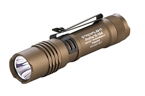 Streamlight ProTac 1L-1AA alternate color bronze flashlight for everyday carry